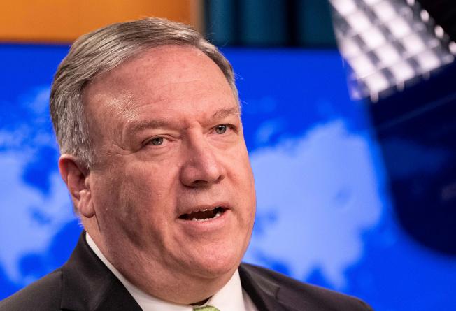 中國全國人大將通過港版國安法,在港設立國安機構,美國務卿龐培歐22日譴責北京此舉是「災難性提案」,強調美國會跟香港人民站在一起。(路透)
