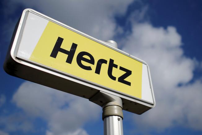 租車業龍頭赫茲公司(Hertz)聲請破產保護。(路透)