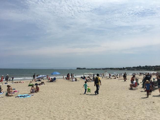 按照規定,麻州海灘可在5月25日重開,需遵守一系列防疫規定。(記者劉晨懿之/攝影)
