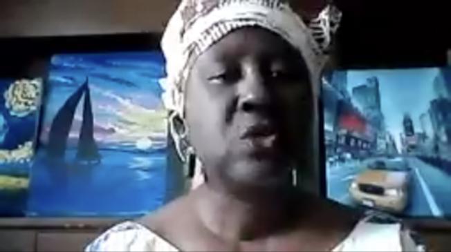 在聯合國婦女署(UN Women) 關注土著及少數族裔問題的Beatrice Duncan。(截圖自線上會議)