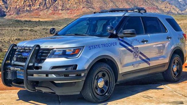 國殤節周末公路巡警嚴查往來加州與賭城間的車輛。(NHP網站)