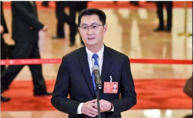 騰訊CEO馬化騰因腰傷缺席今年全國兩會。(取材自觀察者網)