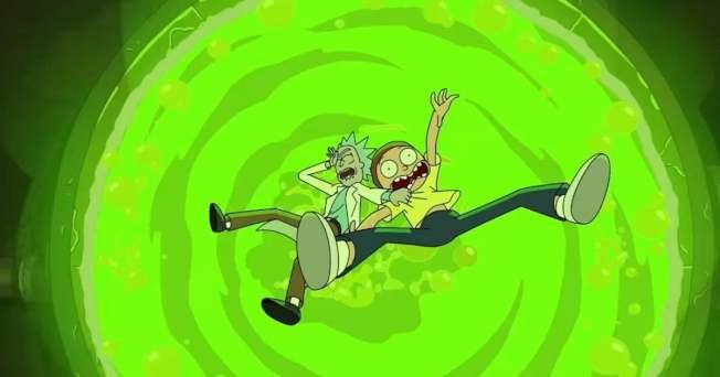 「瑞克和莫蒂」是新冠肺炎疫情期間在美國頗具人氣的節目。圖/摘自YouTube