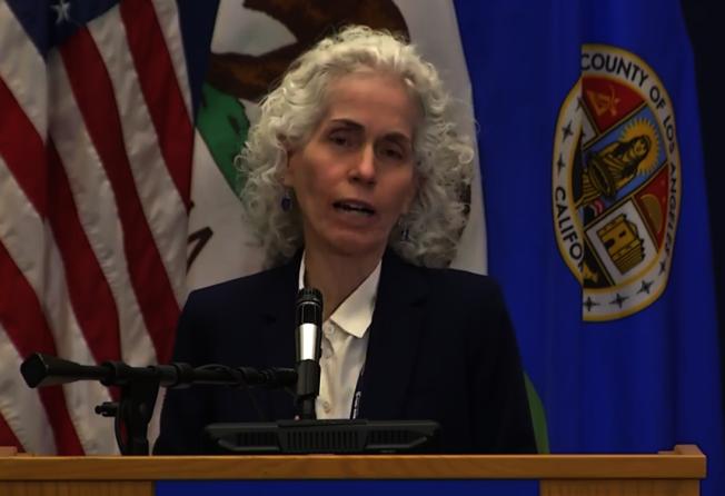 洛縣公共衛生局局長費若(Barbara Ferrer) 。(本報檔案照)