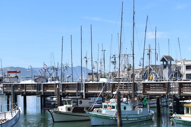 火災對海鮮業者的捕撈和加工造成了相當的損失。(記者黃少華/攝影)