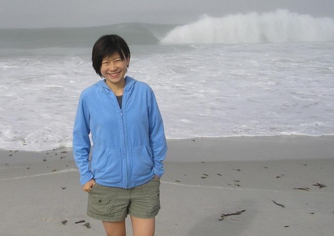 台裔物理學家馬中珮,喜歡徒步探險。(取自柏加大官網)
