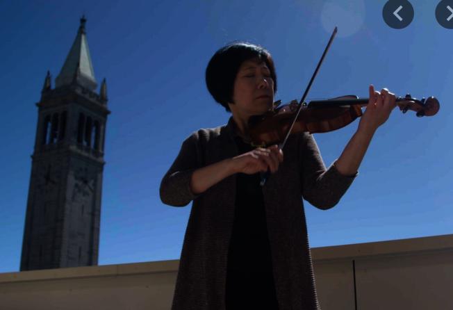 馬中珮5歲時就喜歡拉小提琴,她希望將貝多芬的16首弦樂四重奏,都練習到可以演出的程度。(馬中珮供圖)