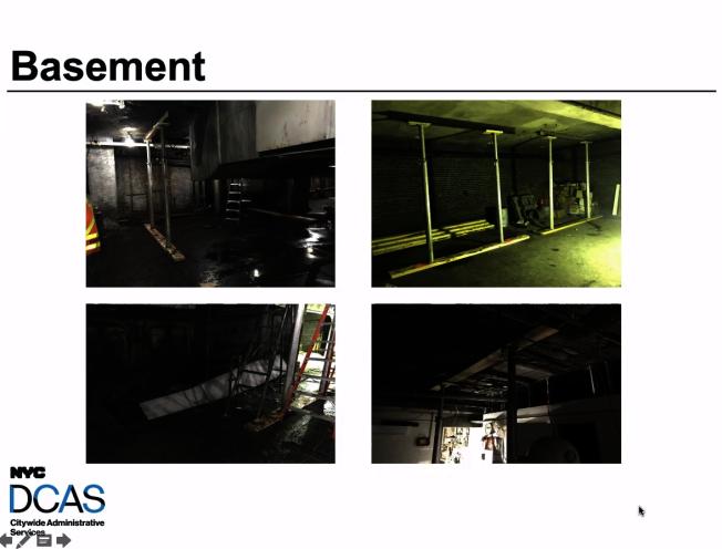 茂比利街70號樓宇在五級大火中面目全非。(DCAS提供)