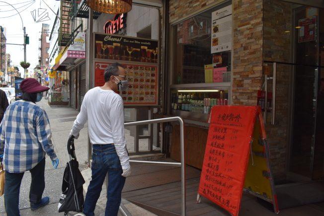 「送愛唐人街」 亞裔青年募款助華埠商家