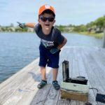 6歲童「磁鐵釣魚」找回失蹤8年保險箱 失主激動下跪