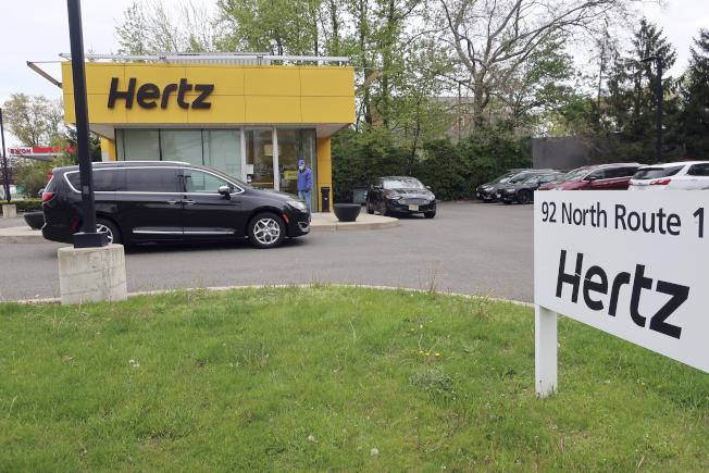 已申請破產的赫茲表示,今年不打算再採購買任何新車。(美聯社)