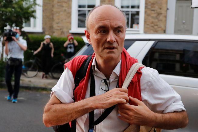 英國首相強生的資深幕僚康明斯(Dominic Cummings)。(Getty Images)