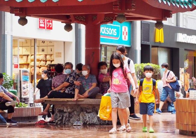 香港25日沒有新增確診新型肺炎個案,確診個案累計有1065宗。(中通社)