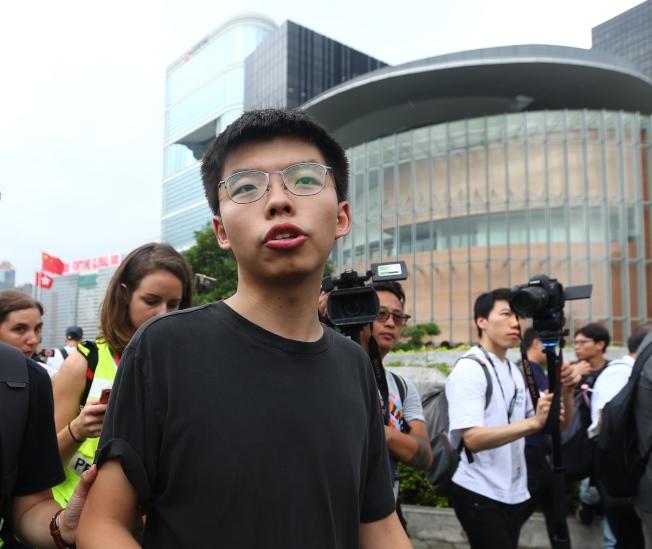香港眾志秘書長黃之鋒。(本報資料照片)