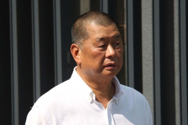 壹傳媒集團創辦人黎智英。(中央社檔案照)