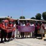 南加僑團捐物資獻愛心給學區