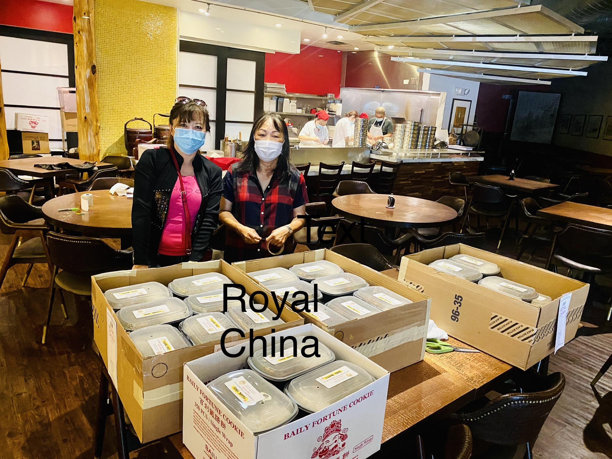 Royal China的美味便當。