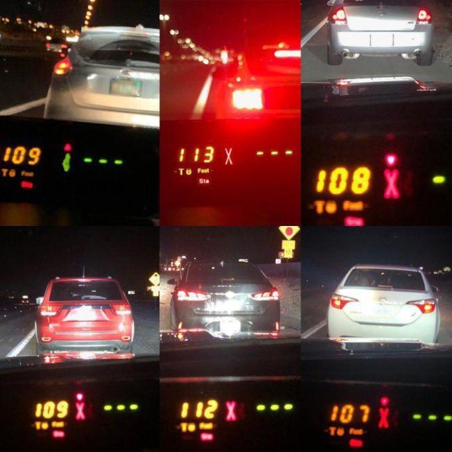 國殤節周末車少 加州往返賭城超速多