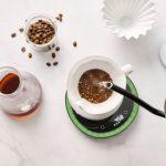 OURA光導引咖啡秤 在家也能沖出專家級咖啡