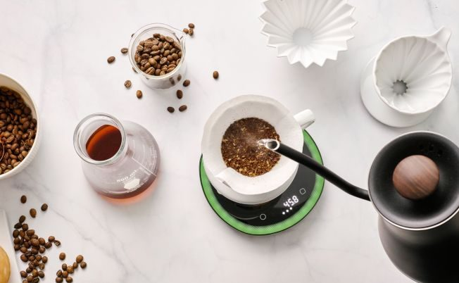 OURA光导引咖啡秤 在家也能冲出专家级咖啡