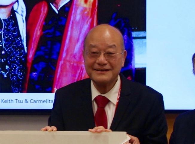 東華醫院新任董事長陳傑民。