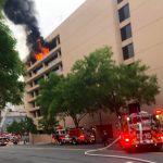 首都捷運局總部頂樓大火 市消防局:無傷亡 正調查原因