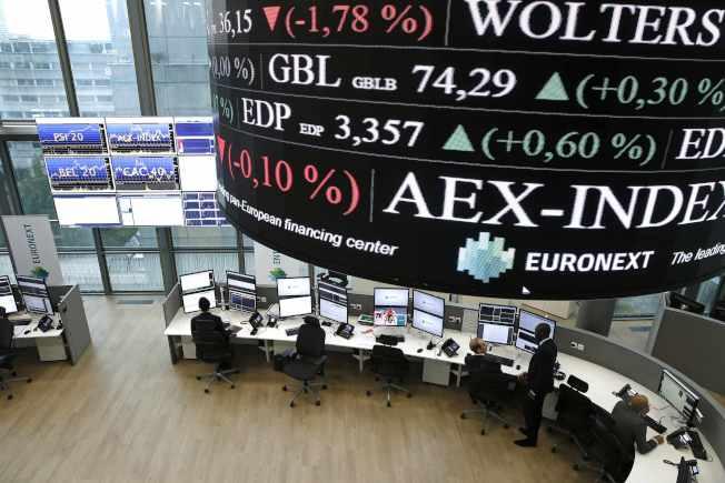 歐盟27日公布經濟復甦方案,激勵歐股走高。 路透