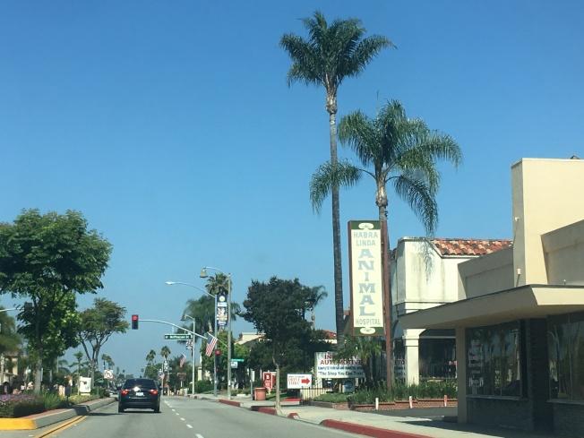 拉哈布拉市位於北橙縣,與洛杉磯縣東區華人區羅蘭岡相鄰,城市小而美。(記者王全秀子/攝影)