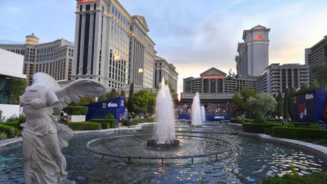 凱撒賭場酒店是賭城大道賭業重啟第一批開門者之一。(維加斯市府提供)