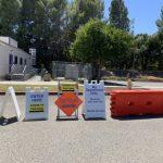 疫情緩+熱浪來襲 聖縣得來速檢測站沒人排隊