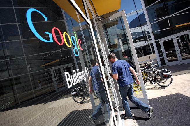 Google宣布逐步重開辦公室。(Getty Images)