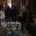明州中餐業者直擊大暴動:暴徒砸店洗劫 如世界末日