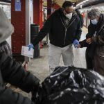 「前所未有」紐約1700遊民接受幫助 移至收容所或醫院
