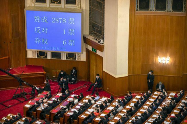 快看世界/中國通過港版國安法 你要知道的4件事