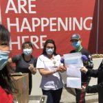 皇上黃營養健康中心抗疫服務社區鼓勵民眾愛心捐贈