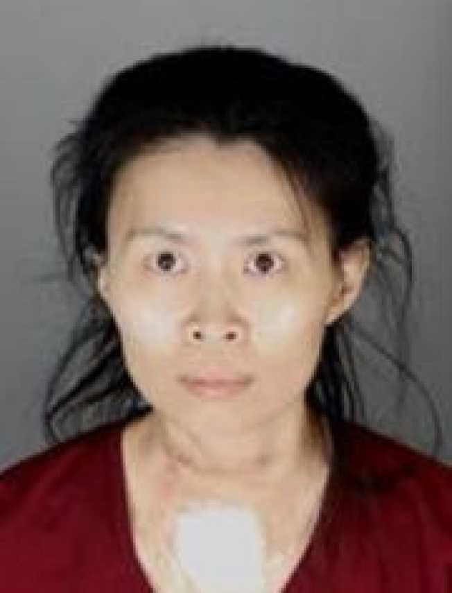 石春慧涉嫌砍殺幼子,被奧克蘭郡檢方以一級謀殺罪名提告。(洛維市警局提供)