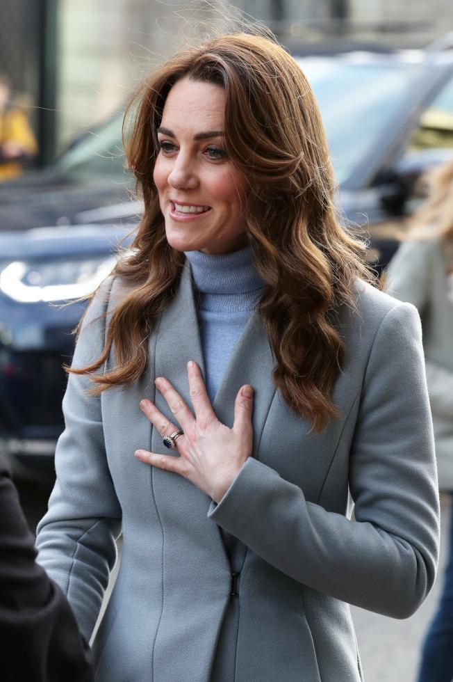 凱特美麗優雅,過往卻顯得高不可攀、親和力不足。(路透資料照)