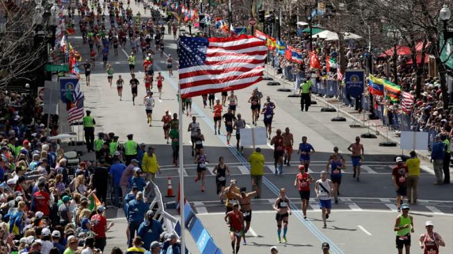 擁有124年悠久歷史的波士頓馬拉松今年因為疫情將取消賽事。(美聯社檔案照)