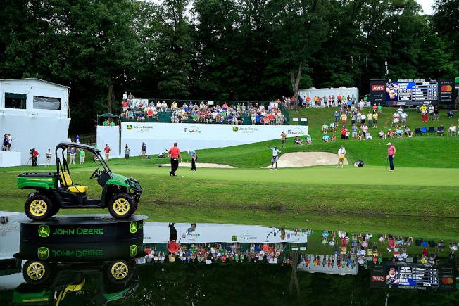 PGA宣布取消今年的約翰迪爾精英賽。(Getty Images)