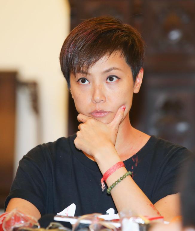香港藝人何韻詩首當其衝,受到「港版國安法」影響。(本報資料照片)