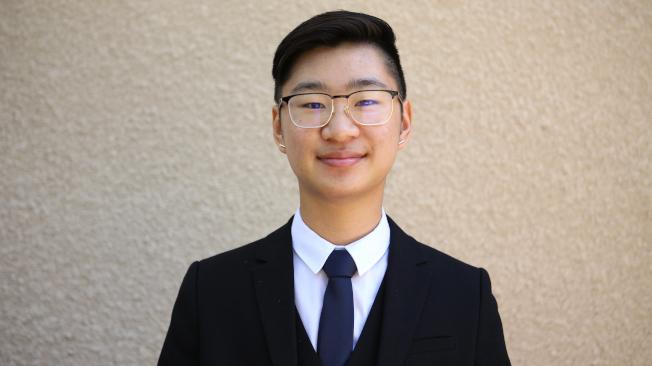 得獎學生黃凱捷(Kai Huang)。(主辦單位提供)