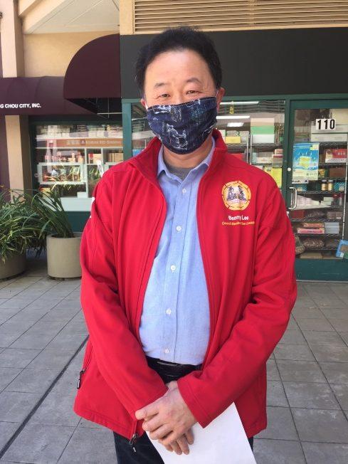 華裔市議員李國斌表示,張貼排外信的婦人有精神疾病,但這不是種族歧視的藉口。(記者劉先進 /攝影)