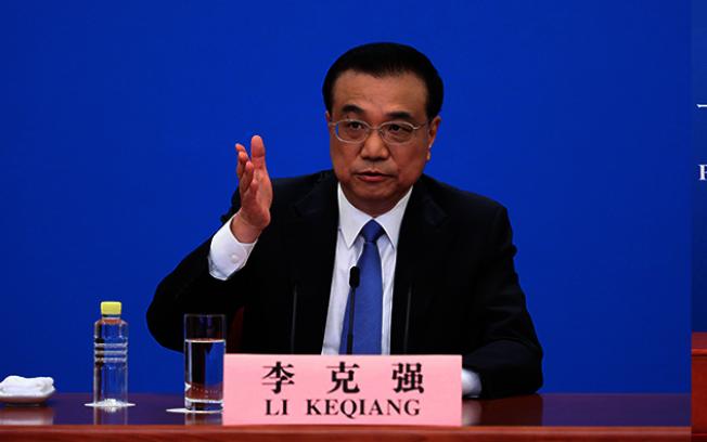 中國總理李克強表示,應按中美元首達成的重要共識,推動建立以協調、合作、穩定的中美關係。(取材自人民網)