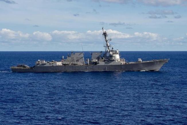 解放軍南部戰區表示,美國海軍馬斯廷號驅逐艦28日「非法闖入我西沙領海」。(取自美國海軍官網)