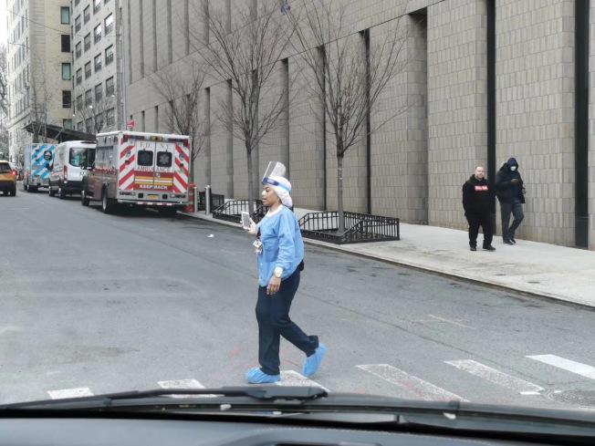 紐約市實現「群體免疫」希望渺茫。(記者張晨/攝影)