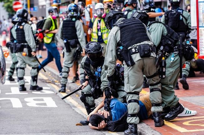 中國駐美大使館在官網發表聲明,指香港事務是中國內政,不容任何外來干涉,。(路透)