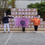 「台灣能幫忙」大華府兩商會慨捐1萬個面罩