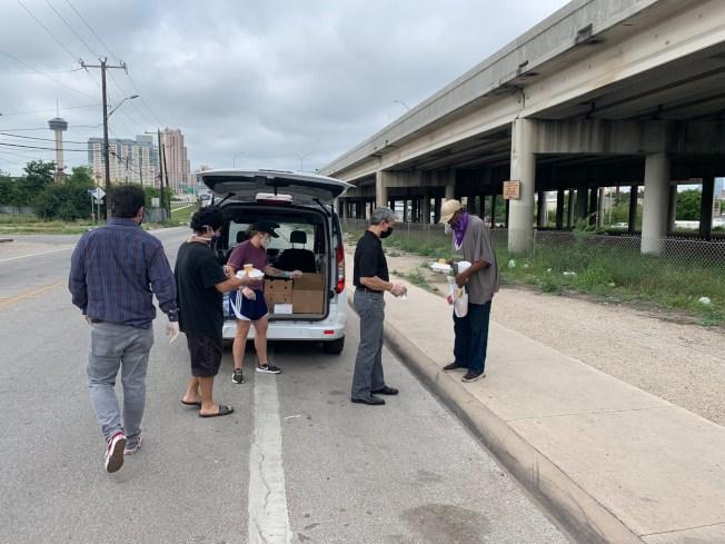 聖安東尼奧市用聯邦紓困金安置遊民。(市長臉書)
