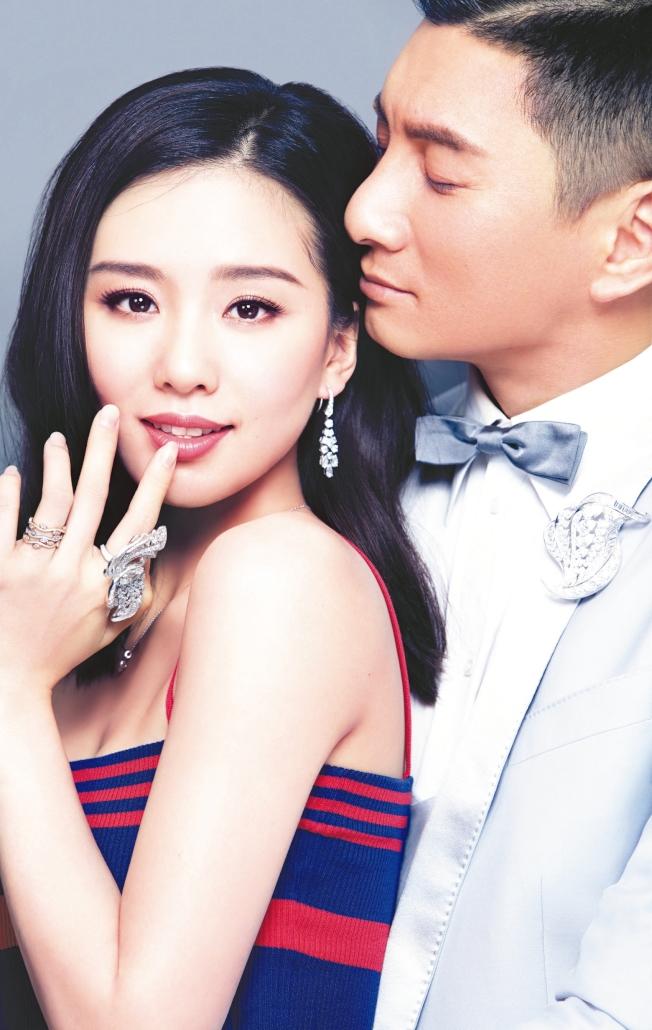 吳奇隆、劉詩詩結婚約5年。(圖:美麗佳人提供)