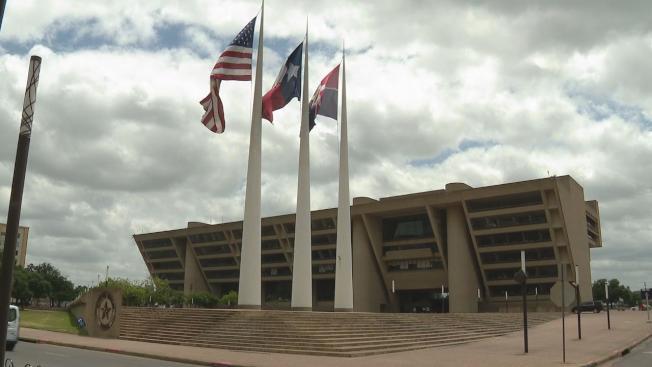 達拉斯市議會封殺產業稅調漲8%的構想。(FOX4電視台)